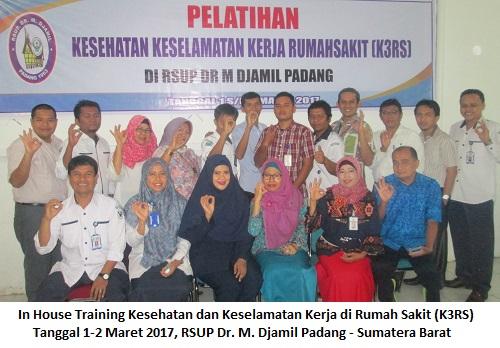 Training K3 Rumah Sakit – Kesehatan dan Keselamatan Kerja di Rumah Sakit (19-20 Oktober 2017 Yogyakarta)