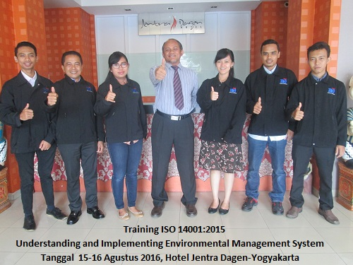 Training ISO 14001:2015 – Understanding and Implementing Environmental Management System (23-24 November 2017 Surabaya)
